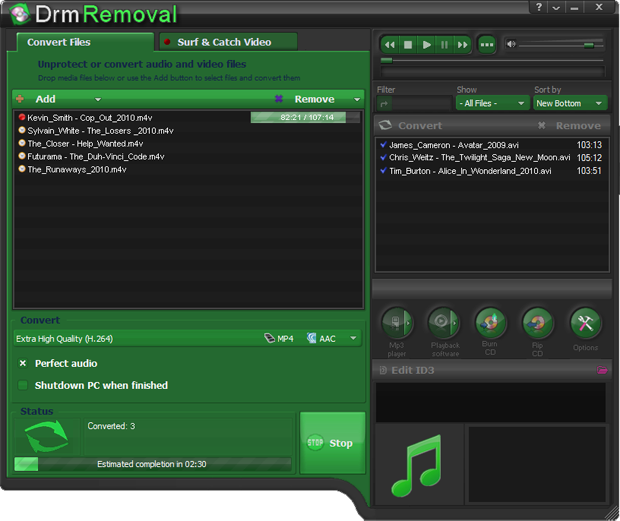 DRM Converter and DRM Removal software